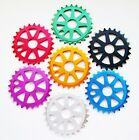 BMX / STREET / STUNT BMX 25T ALLOY CHAINRING, 25 TOOTH  ANNODISED COLOURS !!