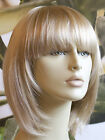 BOB STYLE SHORT LADIES WIG. BLONDES, BROWN, BLACK & RED LADY WIG WITH FRINGE