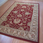 Pendra Traditional Persian Look Rugs In Red & Beige - 6 Sizes Available OW45M