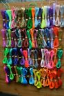 10 yards your choice colors rexlace lacing boondoggle plastic lace string 2