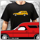 Classic Australian Ford Falcon XB GS Panelvan Car T-Shirt - Colour Customisable