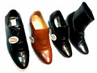 Mens Slip on /Laces Up Shoes Black Wedding Formal Casual Smart Patent Cuban Heel