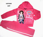Girls England long sleeves hooded sweat top/jogging tracksuit outfit set,3-12yrs