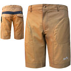 Mens Downhill Shorts Cycling MTB Cycle Road Shorts + Inner Shorts Padded