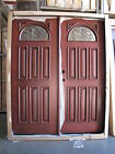 "SALE!! Solid Wood Mahogany Front Unit Pre-hung &Finished DMH7104 pair of 32"" DBL"