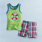 "NWT Vaenait Baby Toddler Kid Sleeveless Top + Shorts Outfits 2pcs Sets "" Tube """