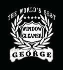 Window Cleaner T-Shirt Personalised Add Name Of Choice Great Gift T-Shirt Window
