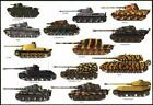GERMAN TANKS GLOSSY POSTER PICTURE PHOTO tiger maus grosstractor war fight 1131