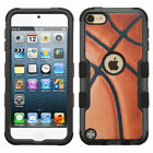 for iPod Touch 5th / 6th Gen - Basketball NBA Armor Hard&Soft Rubber Hybrid Case