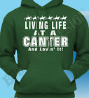 Equestrian Hoodie Hoody Canter Horse Rider Riding Various Unisex Design Horses