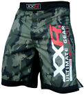 XXR Camo Pro MMA Fight Shorts Green Camouflage UFC Cage Fight Grappling Boxing