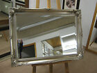 "3"" ORNATE SILVER SWEPT SHABBY CHIC STYLE LONG AND OVERMANTLE WALL MIRRORS"