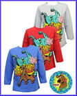 Scooby Doo long sleeved tops, Ages 3-9 in Blue, Red or Grey, BNWT!