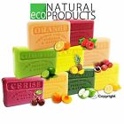 Savon de Marseille Natural French Soap with Organic Shea Butter *Genuine* FRUITS