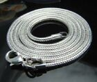 """Wholesale Price 5X 925Sterling Silver Hot Snake Chain Necklace 3MM 16 - 30"""" N192"""