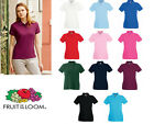 Fruit of the Loom Women's-Fit Premium Polo All Sizes