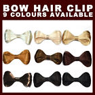 Synthetic Fake Hair Bow Clip Lady Gaga Hair Accessories New - 9 Colours