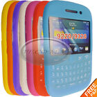 For Blackberry Curve 9320 9220 Gel Silicone rubber Keypad Case Cover skin