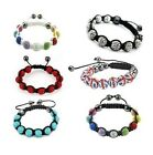 ★Shamballa★Friendship Bracelet Crystal Disco Ball Premium Quality  Balls Sparkle