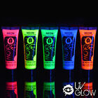 5 x UV Neon Face/Body Paints - cheapest on ebay - fluo blacklight fluorescent