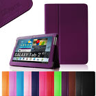 Multi-color Folio Leather Case Cover for Samsung Galaxy Tab 2 10.1 inch Tablet
