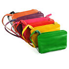 2013 New women/lady Genuine cow leather coin phone Stylish purse wallet 7colors