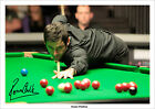 RONNIE O'SULLIVAN SIGNED PHOTO PRINT POSTER SNOOKER 2013 WORLD CHAMPIONSHIPS A3