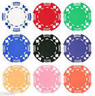 25 piece 11.5g Double Suited Style Poker Chips Choose From 9 Colors