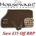 Horseware RAMBO Grand Prix Show Rug BRN Fleece Cooler Travel **CLEARANCE**