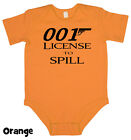 License To Spill - Baby Grow Boy Girl Babies Clothes Gift Funny Cool Present