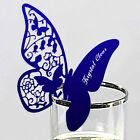 20 butterfly name place card glass placecards favors wedding table centrepiece