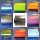 "Matt/Matte Vinyl Wrap ""Bubble Free"" Black White Red Pink Blue Green Silver Gold"