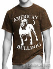 MINERAL WASH MENS T SHIRT,IN ALL SIZE'S BLUE,BLACK,BROWN, AMERICAN BULLDOG