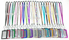 Внешний вид - Multi-Color Rhinestone Crystal Bling Neck LANYARDs with Vertical ID Badge Holder