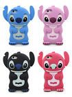 3D STITCH SOFT RUBBER SILICONE ONE PIECE PHONE CASE COVER for APPLE IPHONE 5