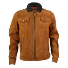 Brand New Mens Schott LC3103 Tobacco Leather Jacket
