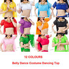 Wholesale Belly Dance Dancing Costume dancewear dress Chiffon Lantern Top Choli