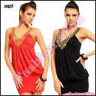 Sexy Ladies Mini Dress Women's Summer Party Clubwear Tunic One Size 6,8,10,12 UK
