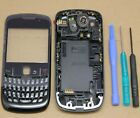 FULL HOUSING COVER CASE FOR BLACKBERRY FASCIA REPLACEMENT FACEPLATE KEYPAD TOOLS
