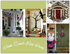 HOUSE WARMING Party INVITATIONS   4 Season DOORS  Postcards or Flat Cards Env
