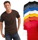 Hanes Mens Plain Summer Weight Cotton Tee T-Shirt S-3XL No logo REDUCED TO CLEAR