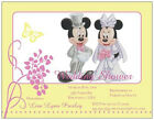 Custom Mickey MINNIE MOUSE WEDDING SHOWER Anniversary INVITATIONS Cards