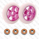 SCOOTER WHEELS SET W/BEARINGS Generic 5 DIFFERENT COLOURS