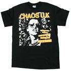 CHAOS UK 100% TWO FINGERS IN THE AIR PUNK ROCK T-SHIRT UK HARDCORE PUNK ROCK NEW
