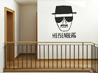 Heisenberg - Breaking Bad Wall Art Sticker, Wall Decal, Modern Vinyl Transfer