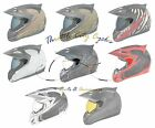 *Ships Same Day* Side Plates for Icon Variant Motorcycle Helmet (Black, D Stack