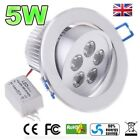 5W LED Down light Ceiling Recessed Lamp Spotlight in Warm / Cool White kitchen