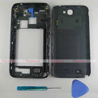 New OEM Housing Middle Frame Back Cover for Samsung Galaxy Note 2 N7100 Gray