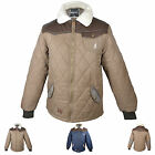 MENS NEW KANGOL HUNTING QUILTED PADDED BOMBER JACKET / COAT SIZE S M L XL XXL