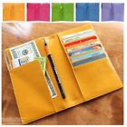 Woman Travel Passport Wallet Card Bill Slots Woman Wallet Cow Leather G0709